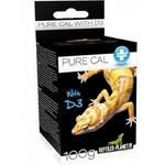 REPTILES PLANET Pure Cal avec D3 100 gr. complément alimentaire à base de calcium pour lézards, tortues et amphibiens