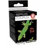 REPTILES PLANET Reptiles Complex avec D3 100 gr. complément alimentaire vitaminé avec 22% de calcium pour lézards, tortues et amphibiens