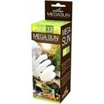 REPTILES PLANET Mega Sun UVB 2.0 ampoule flucompacte 13W avec 2% d'UV-B et 30% d'UV-A pour serpents, invertébrés et lézards nocturnes