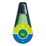 AQUA MEDIC CO2 indicator test CO2 permanent pour aquarium d'eau douce