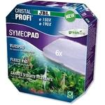 JBL SymecPad II lot de 5 ouates pour filtres externes CristalProfi e1500,e1501, e1901, e1502 et e1902