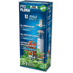 JBL ProFlora u504 kit CO2 avec bouteille jetable 500 gr. pour aquarium de 20 à 400L