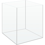 Cuve nue AkouaCube 30 x 30 x 35 cm 31,5 L en verre 4 mm avec couvercle pour Nano-aquarium
