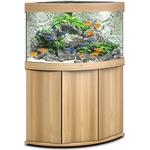 aquarium-angle-juwel-trigon-190-LED-tout-equipe-chene-clair-avec-meuble