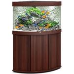 aquarium-angle-juwel-trigon-190-LED-tout-equipe-brun-avec-meuble