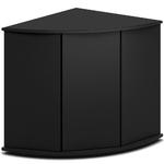Meuble d'angle JUWEL Trigon 190 SBX pour aquarium de 70 x 70 x 98,5 cm 4 coloris au choix : Noir, Chêne clair, Blanc, Brun