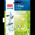 JUWEL Hiflex Lot de 4 clips de remplacement d. 16mm pour réflecteurs T5 Hiflex Réf Juwel 94035