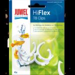 JUWEL Hiflex Lot de 4 clips de remplacement d. 26mm pour réflecteurs T8 Hiflex Réf Juwel 94040