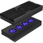 AI Hydra 52 HD Black 135W rampe LEDs haute puissance pour l'éclairage des aquariums récifaux
