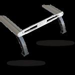 D-D SOLFEET6 Kit de 4 pieds pour supports D-D Twin Rail