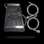 D-D AIWIRE05 Kit de câbles en acier inoxydable pour l'accrochage individuel des rampes AI Hydra 52, Hydra 26, Hydra, Vega et SOL