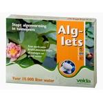 VELDA Alglets 10 tablettes effervescentes anti-algues longue durée d'action pour bassin jusqu'à 10000 L