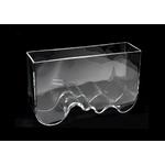 AQUAEL AquaDecoris Vague 40 x 12 x 24 cm 8L nano-aquarium pour crevettes, Betta et petits poissons