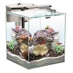 AQUAEL Nano Reef Duo 49L aquarium 35 x 35 x 40 cm équipé pour l'eau de mer avec éclairage LEDs 10W et filtration
