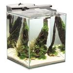 AQUAEL Shrimp Set Duo 49L nano-aquarium 35 x 35 x 40 cm équipé avec éclairage LEDs 10W, chauffage et filtration