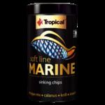 TROPICAL Soft Line Marine L 100 ml nourriture Premium en chips pour poissons marins à partir de 6 cm
