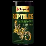 TROPICAL Soft Line Reptiles Herbivore 1000 ml nourriture pour tortues terrestres, lezards et autres reptiles herbivores et ominvores