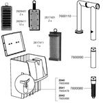 Pièces détachées pour filtre EHEIM Liberty 75, 130 et 200 (2040, 2041, 2042)