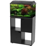 ZOLUX Iseo 60 Noir aquarium équipé 57L, longueur 61 cm, avec ou sans meuble