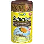 TETRA Selection 250 ml nourritures complètes tous poissons sous 4 formes : Chips, Flocon, Granulés et Pastille