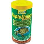 TETRA ReptoDelica Shrimps 1 L crevettes séchées entières pour tortues d'eau