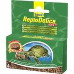 TETRA ReptoDelica Snack 4 x 12 gr nourriture complémentaire sous forme de bloc gélifié pour tortue d'eau