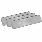 TUNZE 220.155 Lot de 3 lames de rechange  en acier inoxydable pour aimants modèles Care Magnet Long 220.015 et Strong 220.020