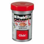 DUPLA Rin Colour L 65 ml nourriture en gros granulés favorisant l'éclat des couleurs chez les poissons d'eau douce et d'eau de mer