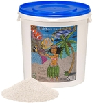 PREIS Bora Bora Sand 25 Kg sable fin blanc riche en Calcium et Magnésium pour aquarium marin