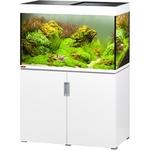 EHEIM Incpiria 300 LED Blanc Brillant kit aquarium 100 cm 300 L avec meuble et éclairage LEDs