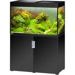 EHEIM Incpiria 300 Noir Brillant kit aquarium 100 cm 300 L avec meuble et éclairage T5