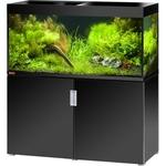 EHEIM Incpiria 400 LED Noir Brillant kit aquarium 130 cm 400 L avec meuble et éclairage LEDs