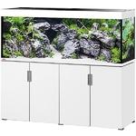 EHEIM Incpiria 500 Blanc Brillant kit aquarium 160 cm 500 L avec meuble et éclairage T5