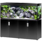 EHEIM Incpiria 500 LED Noir Brillant kit aquarium 160 cm 500 L avec meuble et éclairage LEDs