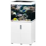 EHEIM Incpiria Marine 200 LED Blanc Brillant kit aquarium 70 cm 200 L avec meuble et éclairage LEDs