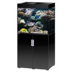 EHEIM Incpiria Marine 200 LED Noir Brillant kit aquarium 70 cm 200 L avec meuble et éclairage LEDs
