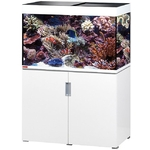 EHEIM Incpiria Marine 300 LED Blanc Brillant kit aquarium 100 cm 300 L avec meuble et éclairage LEDs