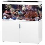 EHEIM Incpiria Marine 400 Blanc Brillant kit aquarium 130 cm 400 L avec meuble et éclairage T5