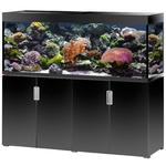 EHEIM Incpiria Marine 500 LED Noir Brillant kit aquarium 160 cm 500 L avec meuble et éclairage LEDs