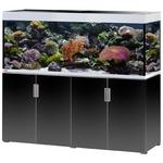 EHEIM Incpiria Marine 500 LED Noir Brillant / Argent kit aquarium 160 cm 500 L avec meuble et éclairage LEDs