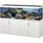EHEIM Incpiria Marine 600 LED Blanc Brillant kit aquarium 200 cm 600 L avec meuble et éclairage LEDs