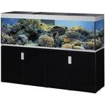 EHEIM Incpiria Marine 600 LED Noir Brillant / Argent kit aquarium 200 cm 600 L avec meuble et éclairage LEDs