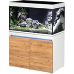 EHEIM Incpiria 330 LED Alpin / Nature kit aquarium 100 cm 330 L avec meuble et éclairage LEDs