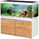 EHEIM Incpiria 430 LED Alpin / Nature kit aquarium 130 cm 430 L avec meuble et éclairage LEDs