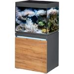 EHEIM Incpiria Marine 230 LED Graphite / Nature kit aquarium 70 cm 230 L avec meuble et éclairage LEDs