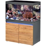 EHEIM Incpiria Marine 330 LED Graphite / Nature kit aquarium 100 cm 330 L avec meuble et éclairage LEDs