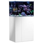 AQUA MEDIC Armatus 250 Blanc kit aquarium eau de mer de 190 L avec meuble et décantation