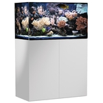 AQUA MEDIC Armatus 300 Blanc kit aquarium eau de mer 250 L avec meuble et décantation