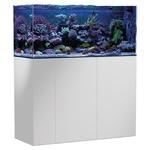 AQUA MEDIC Armatus 400 Blanc kit aquarium eau de mer 315 L avec meuble et décantation