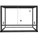 REPTILES PLANET Terrarium Aluminium Elégance 62,5 x 45 x 45 cm Noir